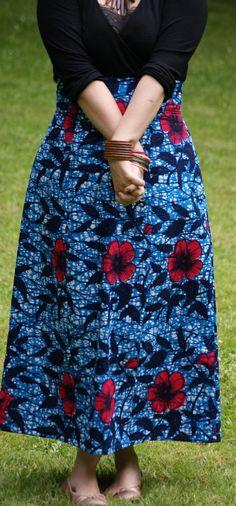 Anémone Deer and Doe  maxi skirt