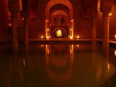 I loved the Hammam bath in Granada. There was some beautiful tile work there! - Jenn A.