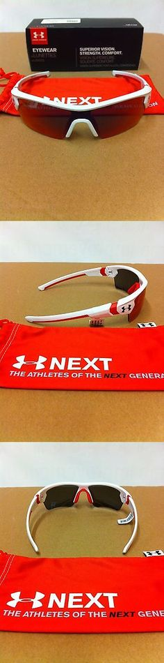 Sunglasses 131411: Under Armour Menace Youth Shiny White Infrared Multi Sunglasses Make Offers -> BUY IT NOW ONLY: $65 on eBay!