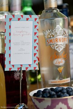 Girls Night // Smirnoff Sorbet Light Mixology Party