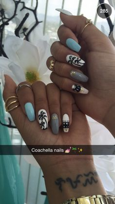 Liane V's coachella nails