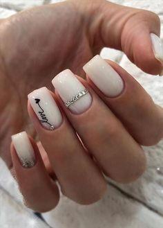 Short Square Acrylic Nails, Short Square Nails, Simple Acrylic Nails, Best Acrylic Nails, Colorful Nails, Pink Nail Art, Square Nail Designs, Short Nail Designs, Acrylic Nails Designs Short
