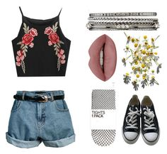 """""""Roleplay?"""" by anqelfish ❤ liked on Polyvore featuring Retrò, Converse and Charlotte Russe"""