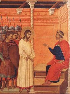 Christ before Pontius Pilate Fr. Guérard des Lauriers to Msgr. Lefèbvre:  'You Act like Pontius Pilate'