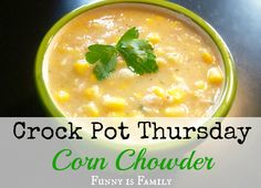 Looks like the best Corn Chowder recipe!