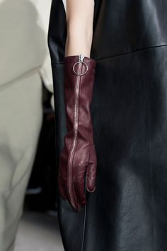 Acne Studios Fall 2014 leather gloves