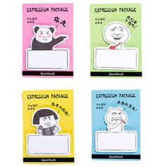Find More Memo Pads Information about Student Cute Lovely Cartoon Paper Sticky Memo Pad Creative Expression Package Notepads For Gifts School Supplies 2641  ,High Quality memo pad,China sticky memo Suppliers, Cheap sticky memo pads from Students School Stationery Store on Aliexpress.com