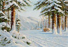 зимний пейзаж – 08