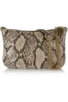 stella mccartney boo python bag