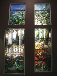 File:Louis Comfort Tiffany stained glass, Carnegie Museum of Art, Pittsburgh - IMG Tiffany Stained Glass, Tiffany Glass, Stained Glass Art, Stained Glass Windows, Mosaic Glass, Louis Comfort Tiffany, Art Of Glass, Glass Wall Art, Art Nouveau