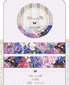 per-order ***** made in Japan Round Top x Taiwan Design masking tape - Limited Edition Yee Night Garden 1 ROLL