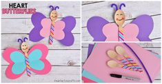 Make this cute butterfly craft for Valentine's Day using some wooden spoons and craft paper! This is a great craft to teach your younger ones the heart shape. And it can be made in just minutes! After we were finished making these the kids used them as puppets! Follow the easy directions below to make …