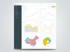 Charts, graphs, bars  by uixNinja