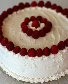 Lemon Raspberry Cake   Vegan Dad