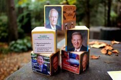 Make these Apostle Blocks for General Conference using the free Apostle Cards from the Friend! | We Talk of Christ, We Rejoice In Christ