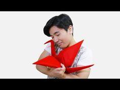TSURU DE ORIGAMI DE PELÚCIA (Jo Nakashima & Camila Zeymer) - YouTube