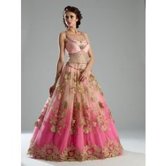 This Indo Western gown is in net and crepe fabric. Upper layer of net is of baby pink color. This Indo Western gown is on SALE This Indo Western gown is in net and crepe fabric. Upper layer of net is of baby pink color. This Indo Western gown is on SALE Indian Wedding Gowns, Indian Bridal Wear, Indian Dresses, Indian Outfits, Gown Wedding, Bride Indian, Indian Clothes, Indian Weddings, Red Wedding