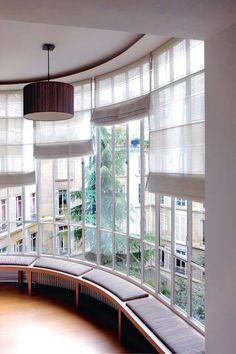 Fenêtres sur cour , appartement haussmannien