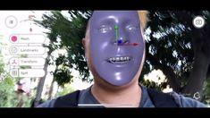 Pinscreen Face Tracker App