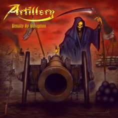 """ARTILLERY - """"Penalty By Perception"""" review on BraveWords.com """"With a lightning flash, chirping crickets and down home guitar tone that would preface a swampy south rock ode, the Danes quickly kick into the frenetic thrash they've pioneered since the '80s, no growls, high intensity guitar workouts."""""""