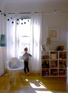 Light-filled child's room in San Francisco