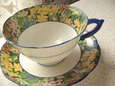 Antique tea cup vintage 1930's Paragon English ♥ by ShoponSherman, $69.00