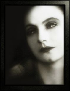 Greta Garbo...timeless.