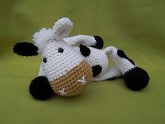 My Friend Cow Matylda - Amigurumi Crochet Pattern / PDF e-Book / Stuffed Animal Tutorial on Etsy, $5.70
