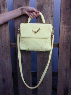#Yellow #MiniBag  http://www.heliciabsas.com/minibag-amber_126xJM