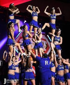 California All Stars Reckless 2017 - 2018 uniform. I love the throwback skirt but the back looks like it'll rip off. Cheer Athletics, Cheer Stunts, Cheer Dance, All Star Cheer Uniforms, Cheerleading Uniforms, Cheer Picture Poses, Cheer Poses, Great White Sharks Cheer, Cali