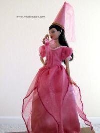 Robe de fée pour poupée Barbie