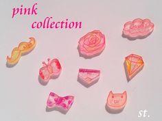 [再々販]pink collection【ピアス】 by st. アクセサリー ピアス