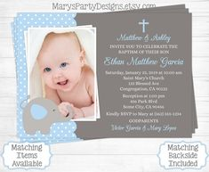 10 best baptism christening invitations images on pinterest