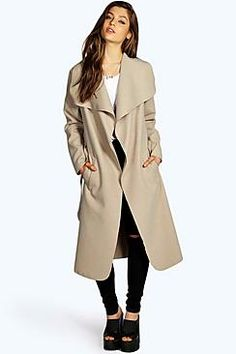15084c174f645 Fall 2017 Fashion Women Casual Long Trench Coat Winter Plus Size Solid  Color Outerwear Female Loose Lapel Windbreaker with Belt