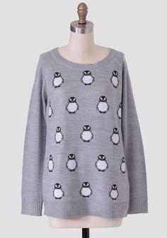 Rhea Penguin Sweater