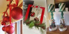 Here are some great decorating ideas for Christmas using items from the Dollar Store!