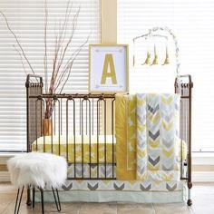 Kangaroo Baby Bedding Set 6 Piece Crib Quilt Sets Gold Nursery Bed Pam Grace…