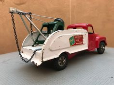 Toy Trucks, Tin Toys, Restoration, Metal, Sexy, Vintage, Refurbishment, Vintage Comics