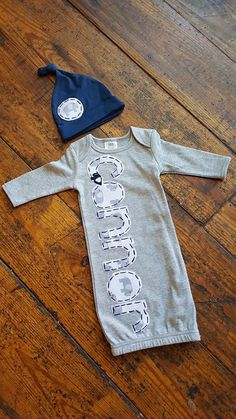 Elephant name gown for newborn boy. customize today! Baby Boy Outfits 93742dcb4