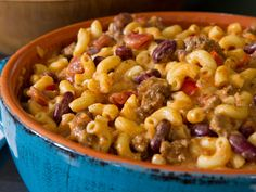 Chili Mac and Cheese recipe from Trisha Yearwood via Food Network