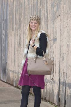 Trending: Faux Fur Vest | Style in a Small Town