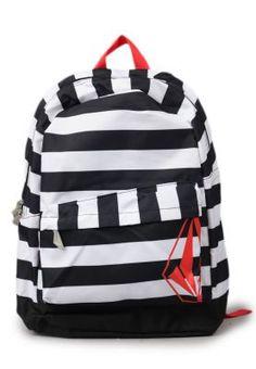 Volcom's 2 School 4 Cool Backpack Black | @ZaloraID
