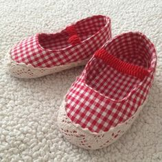 Red gingham ~ so adorable