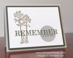 In the Meadow, Words of Truth, Stampin' Up!, Brian King, PPA296
