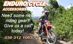 Look no further than Enduro Cycles when replacing your parts and accessories.  At Enduro Cycles we take great pride and care to ensure your safety, which is why we stock only quality approved riding gear/ parts and accessories. Visit our website to view our full range of products, or give us a call for any questions you might have.  Phone: 039 312 1063   Email: Info@EnduroCycles.co.za  www.Endurocycles.co.za  #EnduroCycles #Safety #Accessories #Parts #RidingGear #QualityApproved #Helmets…