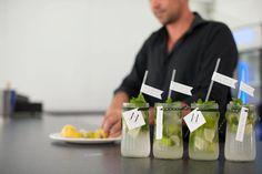 Mojito, Wedding Venues, Jar, Dinner, Drinks, Wedding Reception Venues, Dining, Beverages, Wedding Places