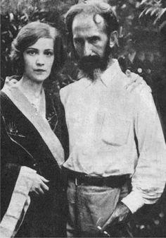 Horacio Quiroga con su primera mujer, Ana Maria Cires. Foto: DP.