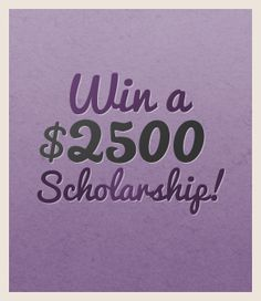 Win a $2500 cosmetology scholarship from Beauty Schools Marketing Group! Deadline to apply is January 31, 2013