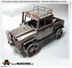 Land Rover defender model hand made Poland