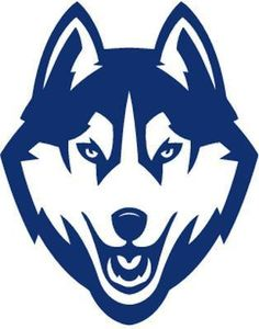Vinyl Decal Sticker - Uconn Huskies Decal for Windows, Cars, Laptops, Macbook, Yeti, Coolers, Mugs etc